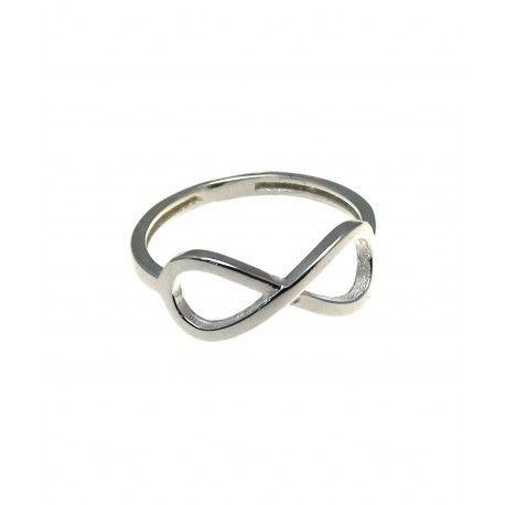 c53da2772022 Anillo en plata de ley 925 modelo infinito